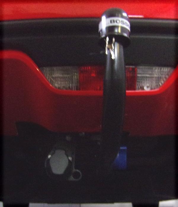Anhängerkupplung Ford Mustang VI Cabrio Convertible, nur für Heckträgerbetrieb, Montage nur bei uns im Haus, Baureihe 2015-2017  vertikal