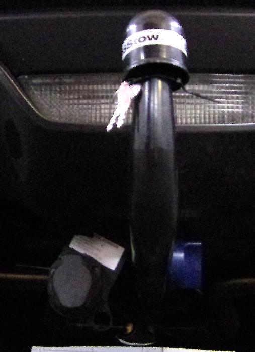 Anhängerkupplung Ford Mustang VI Coupe Fastback, nur für Heckträgerbetrieb, Montage nur bei uns im Haus, Baureihe 2015-2017  vertikal