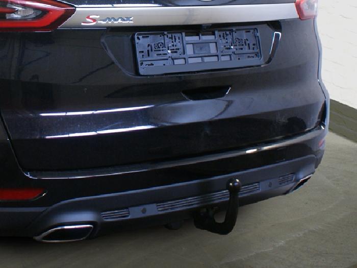 Anhängerkupplung Ford S-Max nicht Fzg. m. Fuss Sensor Heckklappe, Baureihe 2015-  vertikal