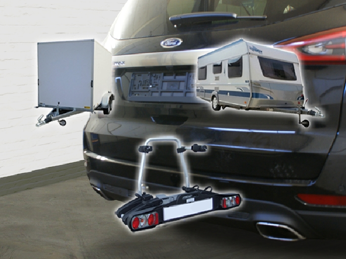 Auto-Hak Anhängerkupplung horizontal abnehmbar Ford Transit//Tourneo Custom 2012