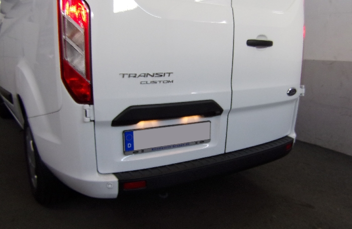 Anhängerkupplung Ford-Transit Custom, Baureihe 2016-2019  feststehend