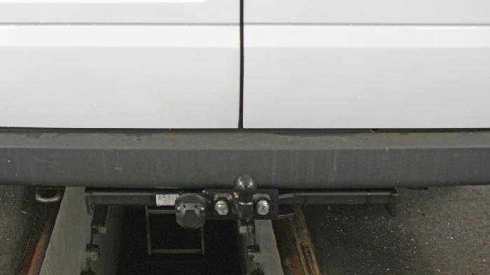 Anhängerkupplung für Ford-Transit Bus, Kastenwagen ohne Trittbrett, Baureihe 2006-2014  feststehend