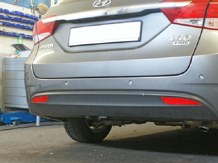 Anhängerkupplung Hyundai-I40 Stufenheck, Baureihe 2012- Ausf.:  vertikal