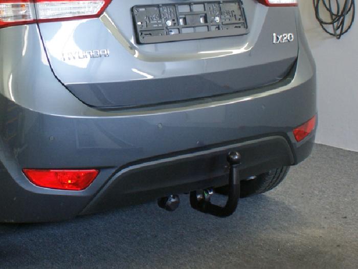 Anhängerkupplung Hyundai-IX20, Baureihe 2010-  vertikal