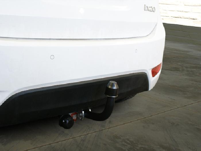 Anhängerkupplung Hyundai-IX20, Baureihe 2010-,  Ausf.:  feststehend