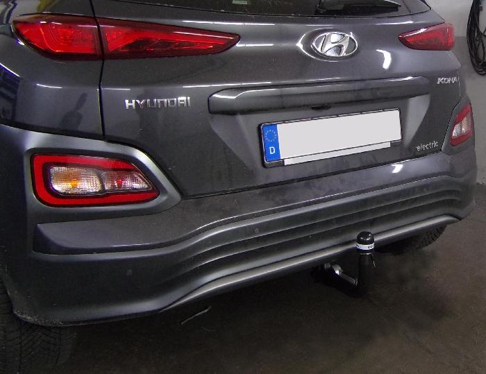 Anhängerkupplung Hyundai-Kona Elektro, nur für Heckträgerbetrieb, Baureihe 2018- Ausf.:  vertikal