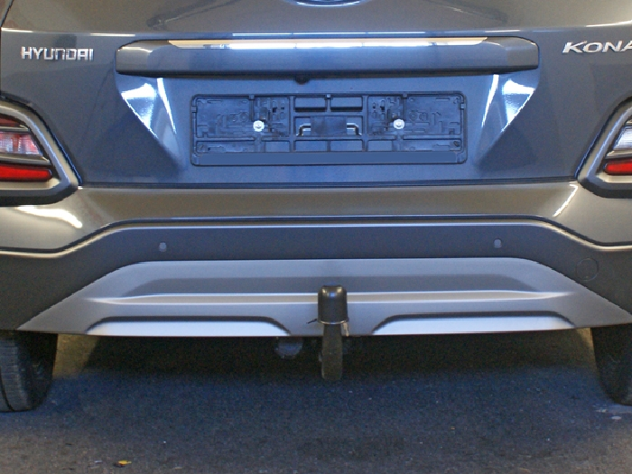 Anhängerkupplung Hyundai-Kona Elektro, nur für Heckträgerbetrieb, Baureihe 2018-