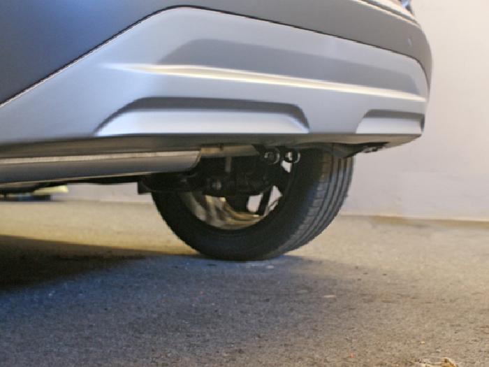 Anhängerkupplung Hyundai-Kona Elektro, mit Anhängelastfreigabe ab Werk, ohne E-Satz Vorbereitung, Baureihe 2018- Ausf.:  vertikal