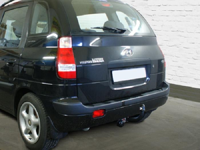 Anhängerkupplung Hyundai-Matrix (FC), Baureihe 2001-2009 Ausf.:  feststehend