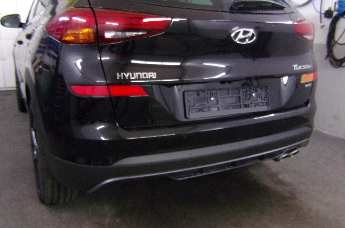 Anhängerkupplung für Hyundai-Tucson, Baureihe 2018-2020  vertikal