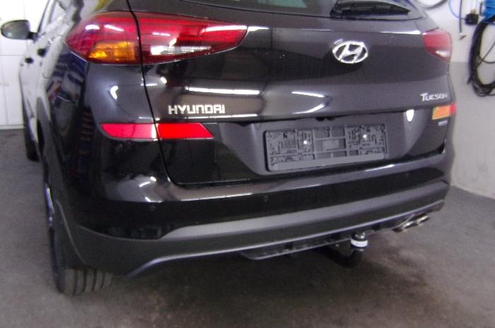 Anhängerkupplung Hyundai-Tucson, Baureihe 2018-2020  vertikal