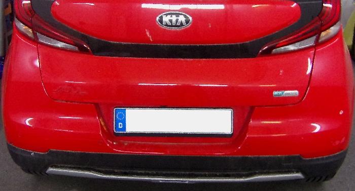 Anhängerkupplung Kia-Soul e-Soul, nur für Heckträgerbetrieb, Baureihe 2019- Ausf.:  vertikal