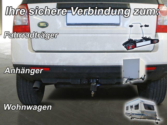 Anhängerkupplung für Landrover-Freelander, Baureihe 2012-  vertikal