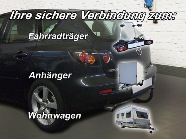Anhängerkupplung für Mazda-3 Fließheck Sport, nicht für MPS, Baureihe 2003-2009  vertikal