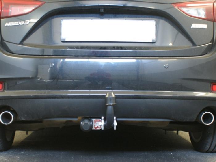 Anhängerkupplung Mazda-3 Fließheck, Baureihe 2013-2019