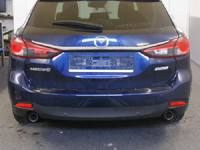 Anhängerkupplung für Mazda-6 Kombi, Baureihe 2013-2018  vertikal