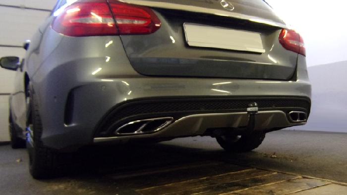 Anhängerkupplung für Mercedes-AMG-AMG C43 Coupe C205 Ausführung C43 (vorab Anhängelastfreigabe prüfen), Baureihe 2016-2018  vertikal