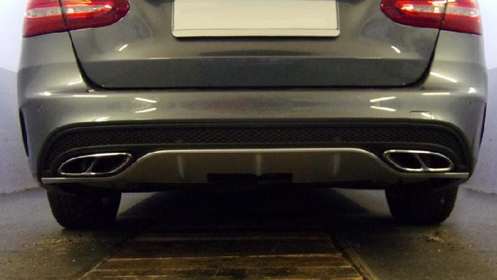 Anhängerkupplung für Mercedes-AMG-AMG C43 Cabrio C205 Ausführung C43 (vorab Anhängelastfreigabe prüfen), Baureihe 2018-  vertikal