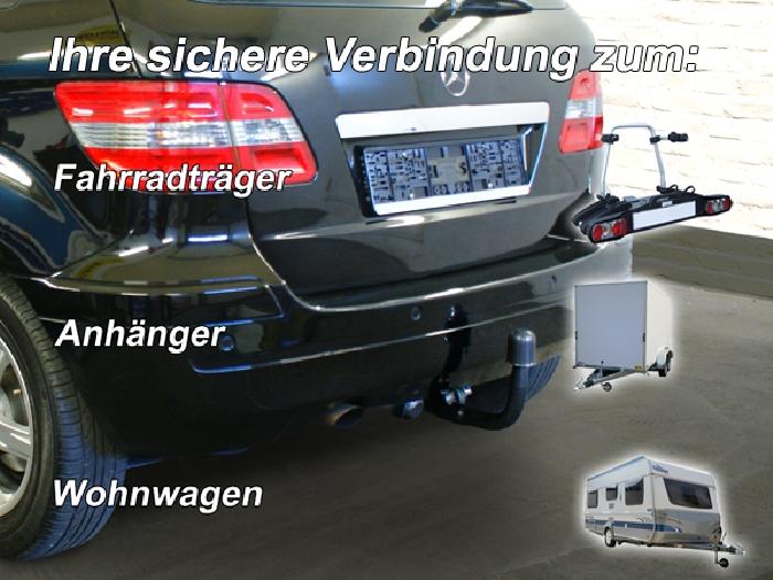 Anhängerkupplung für Mercedes-B-Klasse W245, T 245, Baureihe 2005-  vertikal