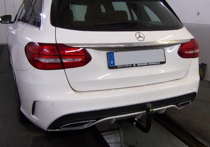 Anhängerkupplung Mercedes C-Klasse Kombi W205, spez. m. AMG Sport o. Styling Paket, Baureihe 2018-  vertikal