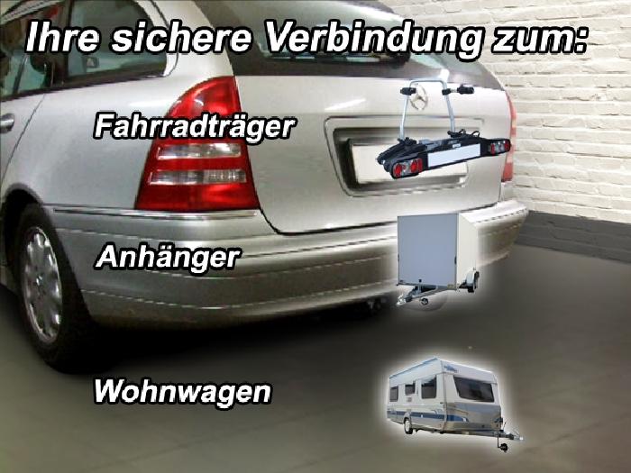Anhängerkupplung Mercedes C-Klasse Kombi W203, Baureihe 2005-2007  feststehend