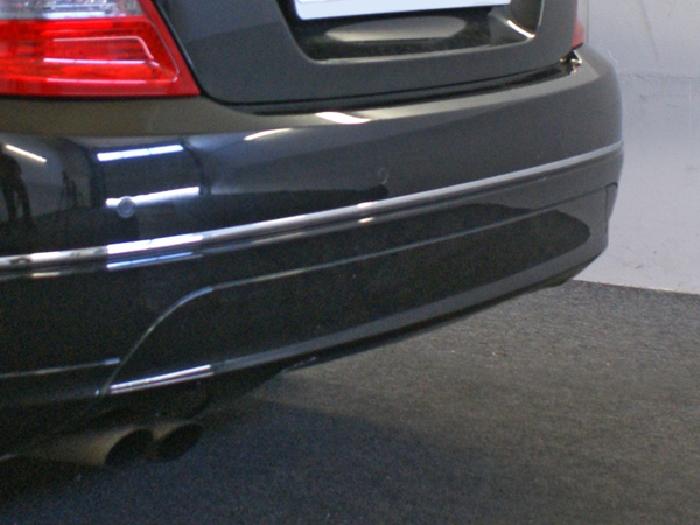 Anhängerkupplung für Mercedes-C-Klasse Lim. W204, Baureihe 2011-2014  vertikal