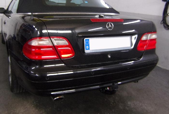 Anhängerkupplung für Mercedes-CLK Coupé, Cabrio C208, nicht 430, Baureihe 1997-2002  vertikal