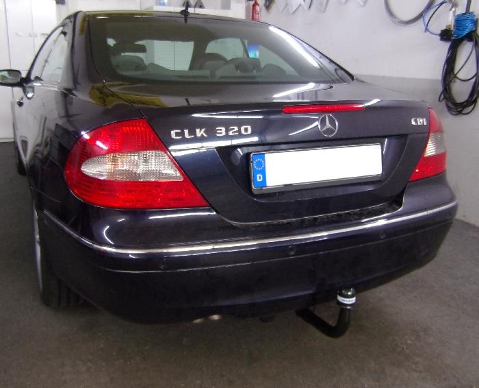 Anhängerkupplung für Mercedes-CLK Coupé C209, Baureihe 2002-  vertikal