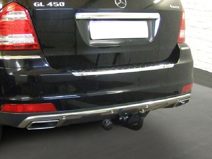 Anhängerkupplung für Mercedes-GL X166, Baureihe 2012-  vertikal