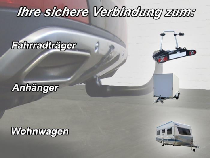 Anhängerkupplung für Mercedes-GL X166, spez. m. AMG Sport o. Styling Paket, Baureihe 2012-  vertikal
