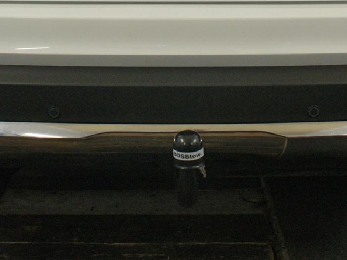 Anhängerkupplung für Mercedes-GLC X253 spez. f. Fzg. m. AMG Sport o. Styling Paket, Baureihe 2015-2019  vertikal