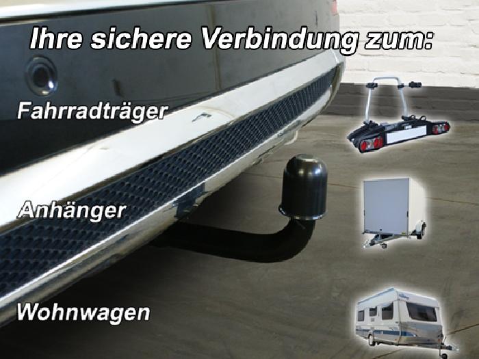 Anhängerkupplung für Mercedes-M-Klasse W166, spez. m. AMG Sport o. Styling Paket, Baureihe 2011-  vertikal