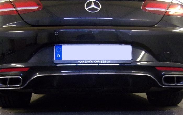 Anhängerkupplung Mercedes S- Klasse A217 Cabrio, nur für Heckträgerbetrieb, Montage nur bei uns im Haus, Baureihe 2017-  vertikal