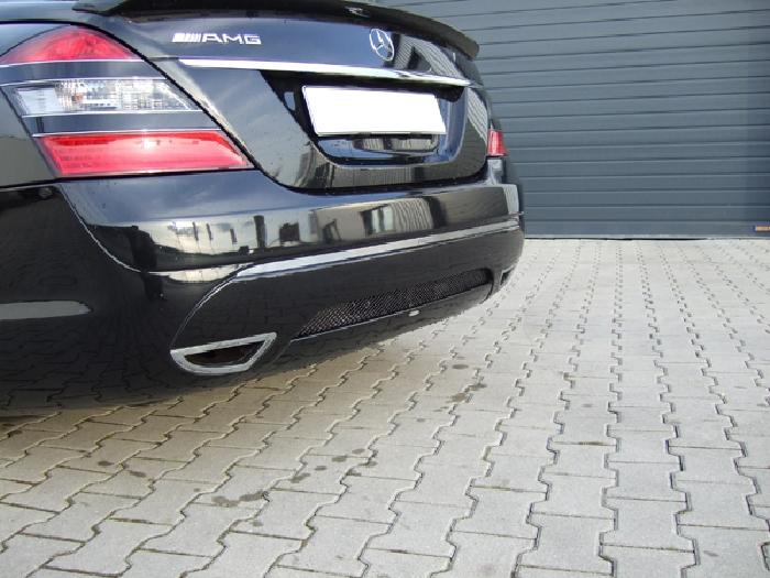 Anhängerkupplung für Mercedes-S- Klasse W221, spez. Lorinser Paket, Baureihe 2006-  vertikal