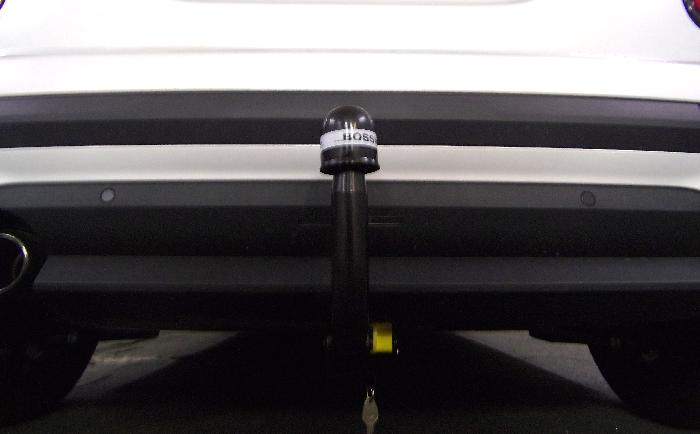 Anhängerkupplung MINI-One, One D, Cooper F57 Cabrio, nicht S, nicht JCW, spez. Fzg. o. Anhängelastfreigabe, nur für Heckträgerbetrieb, Baureihe 2021- Ausf.:  vertikal