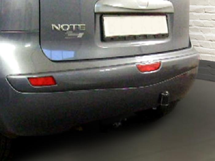 Anhängerkupplung Nissan-Note, Baureihe 2006-2013,  Ausf.:  feststehend