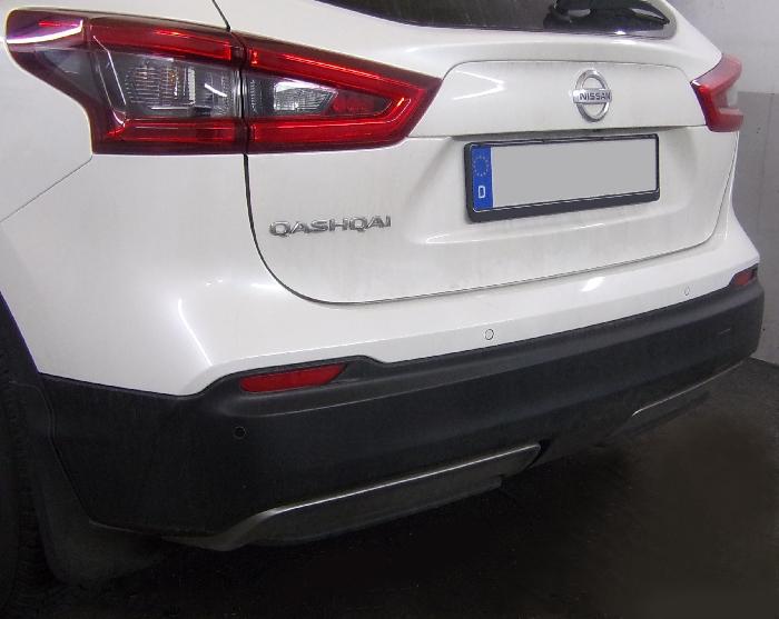 Anhängerkupplung Nissan-Qashqai ohne Adblue, Baureihe 2019- Ausf.:  horizontal