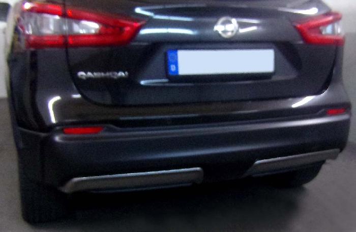 Anhängerkupplung Nissan-Qashqai ohne Adblue, Baureihe 2019- Ausf.:  feststehend