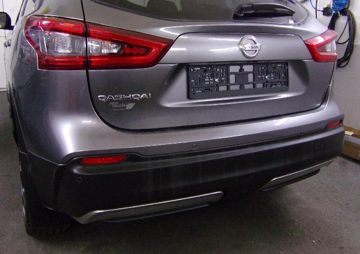 Anhängerkupplung Nissan-Qashqai ohne Adblue, Baureihe 2019- Ausf.:  vertikal