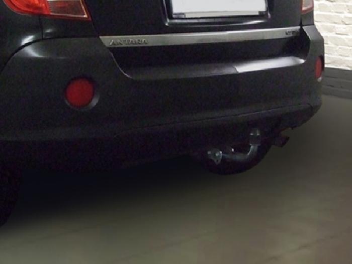 Anhängerkupplung Opel-Antara Fzg. mit Elektrosatz Vorbereitung, Baureihe 2011-2015 Ausf.:  feststehend