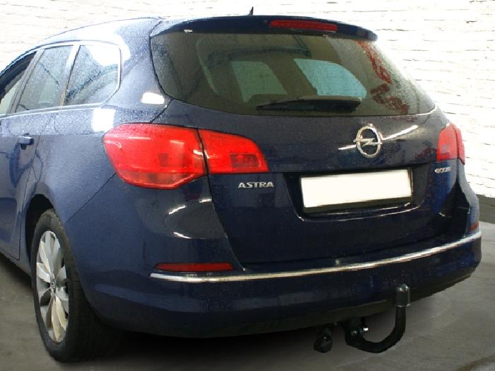 Anhängerkupplung für Opel-Astra J, Kombi, Baureihe 2010-  vertikal