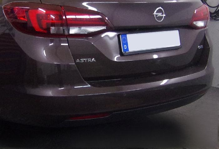 Anhängerkupplung Opel-Astra K, Sports Tourer, Baureihe 2016- Ausf.:  vertikal