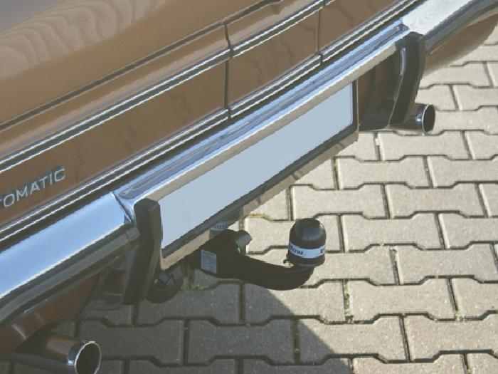 Anhängerkupplung für Opel-Diplomat B- Serie, Baureihe 1969-1977  horizontal