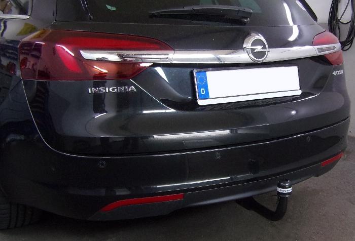 Anhängerkupplung Opel-Insignia A Country Tourer, Baureihe 2013- Ausf.:  vertikal