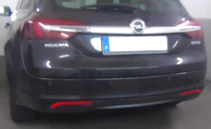 Anhängerkupplung Opel-Insignia A Sports Tourer Tourer, Baureihe 2008- Ausf.:  feststehend