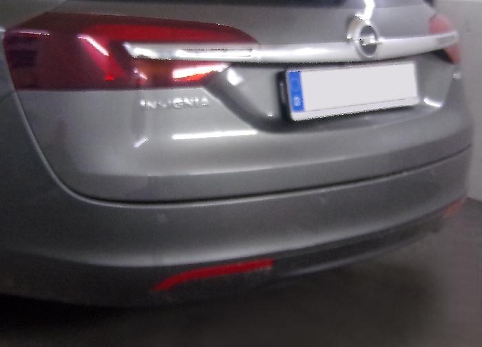 Anhängerkupplung Opel-Insignia A Sports Tourer, Fzg. mit Elektrosatz-Vorbereitung, Baureihe 2008- Ausf.:  feststehend