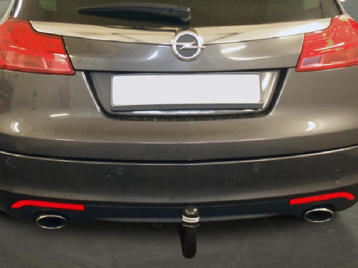 Anhängerkupplung Opel-Insignia A Sports Tourer, speziell OPC, Fzg. mit Elektrosatz-Vorbereitung, Baureihe 2008- Ausf.:  vertikal