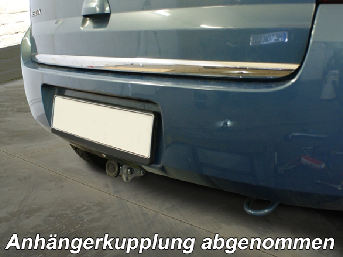 Anhängerkupplung Opel-Meriva A, Minivan, Baureihe 2003-2010 Ausf.:  horizontal
