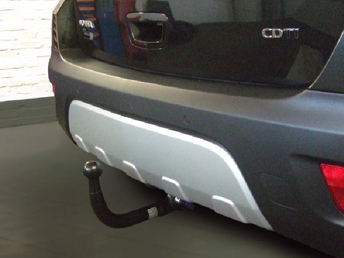Anhängerkupplung für Opel-Mokka X nicht für Fzg. mit Fahrradträgersystem Flex-Fix, Baureihe 2016-  vertikal