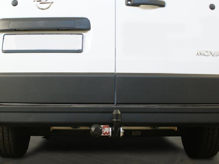 Anhängerkupplung Opel-Movano Kasten, Bus, Kombi, Frontantrieb, Fzg. mit Elektrosatz Vorbereitung, Baureihe 2010-2014 Ausf.:  feststehend